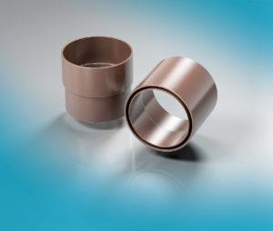 Муфта трубы (однорастубная и двухраструбная) ProAqua