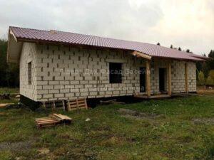 Будівництво дачного будинку Вінниця - 1